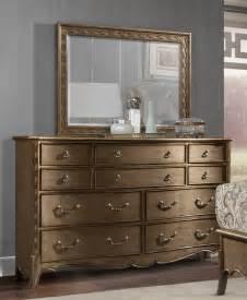 gold dresser homelegance clayton antique gold dresser w mirror 1828 5