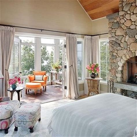 sunroom bedroom love that the master expands into a sunroom for the