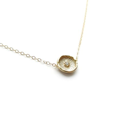 delicate gold necklace 14k gold filled necklace gold layer