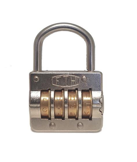 cadenas a combinaison thirard cadenas 224 combinaison 4 lettres pour une utilisation multi