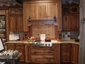 rustic hickory showroom