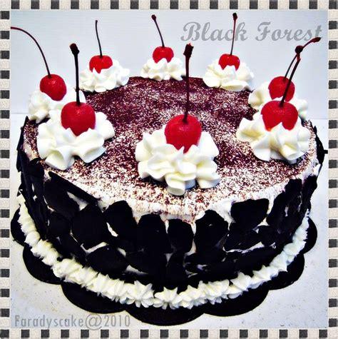 Setelan Forest resep black forest klasik cake cokelat istimewa resep