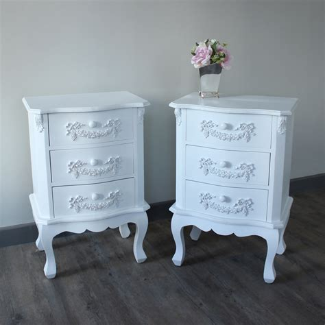 Vintage Table Ls For Bedroom by Pays Blanc Furniture Bundle Antique White Bedside Table