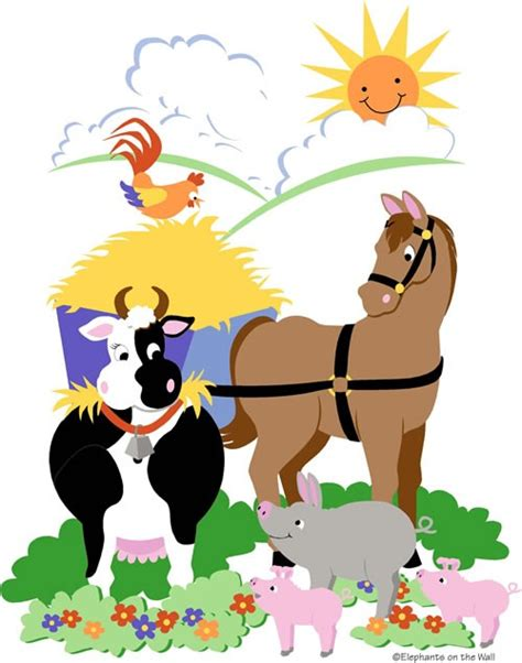 paint by number wall murals for adults barnyard friends paint by number wall mural by elephants on the wall