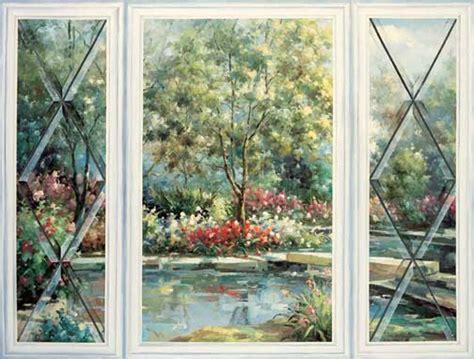 Imaginative Mural Pages By Trisha Selgrath Template Garden Wall Murals