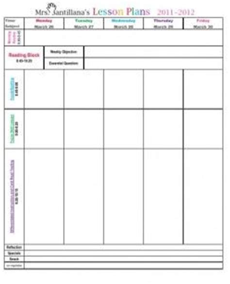 go math lesson plan template lesson plan template classroom organization