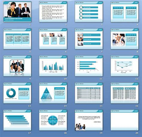 premium desktop meeting powerpoint template background in