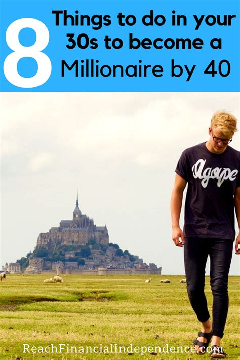 8 Things To Do With Your by 8 Things To Do In Your 30s To Become A Millionaire By 40
