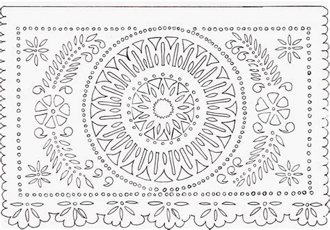 papel picado template for free template papel picado templates pdf pystars