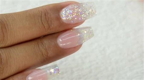 tammy taylor nails inc youtube tammy taylor glitter sculptured acrylic nail demos