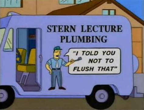 Simpsons Plumbing by Lecture Plumbing Simpsons Wiki
