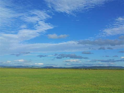 Biru Langit gambar langit biru awan putih gambar gratis foto