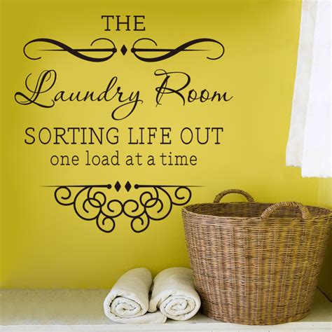 Bedroom Wall Decals Ideas wall sticker quotes bathroom laundry room decoration home
