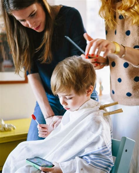 baby boy hairdresser how to cut a child s hair bald patches shaggy hair and