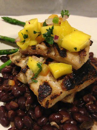 anchor house wilbraham ma grilled mahi mahi w black beans and asparagus picture of anchor house restaurant