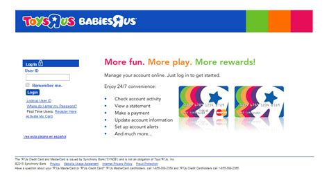toys r us credit card make payment toys r us credit card login make a payment