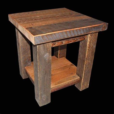 Rustic End Tables 17 Best Ideas About Rustic End Tables On Pinterest End Tables Diy Living Room Furniture And