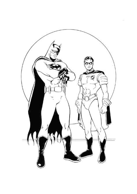 dibujos para colorear batman robin batgirl y batman para imprimir dibujos para colorear de batman banco de imagenes y