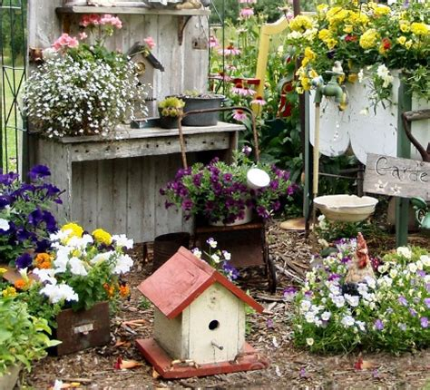 backyard market gardening what makes garden vignettes work flea market gardening