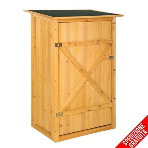 armadietto da esterno armadietto in legno da esterno porta attrezzi per giardino