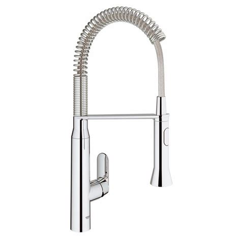 Grohe K7 Kitchen Faucet by Grohe K7 Medium Semi Pro Single Handle Standard Kitchen