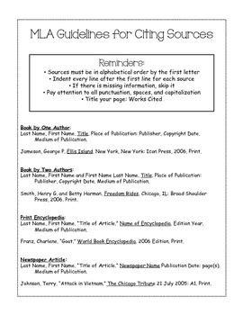 Mla Citation Practice Worksheet by Printables Mla Citation Practice Worksheet Ronleyba
