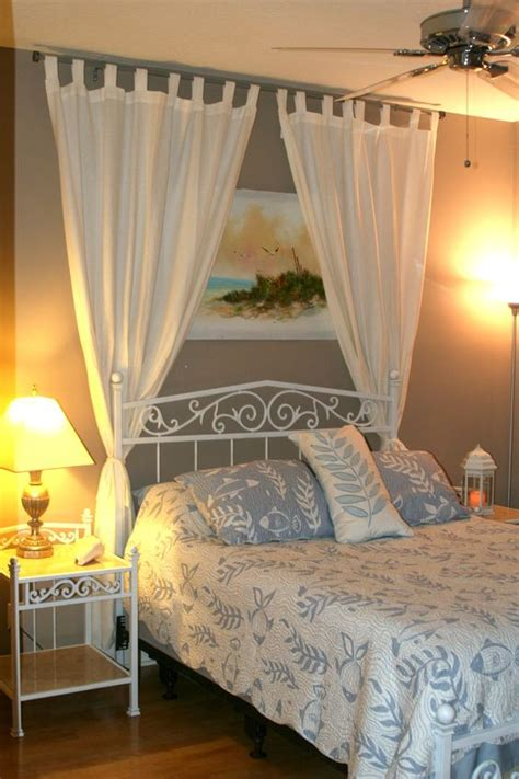 beach themed bedroom canopies curtains and beach theme bedrooms on pinterest