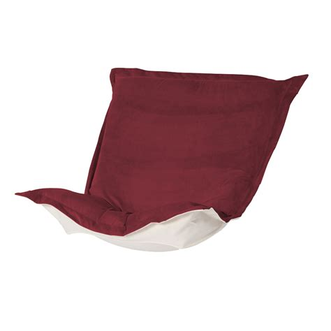 ctc puff chair replacement cover with cushion merlot