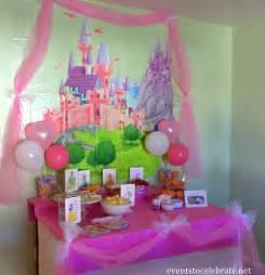 centerpieces for princess birthday disney princess birthday ideas food decorations