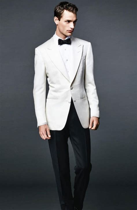 Bond 007 Daniel Craig White bond tuxedo and suit collection for gentlemen
