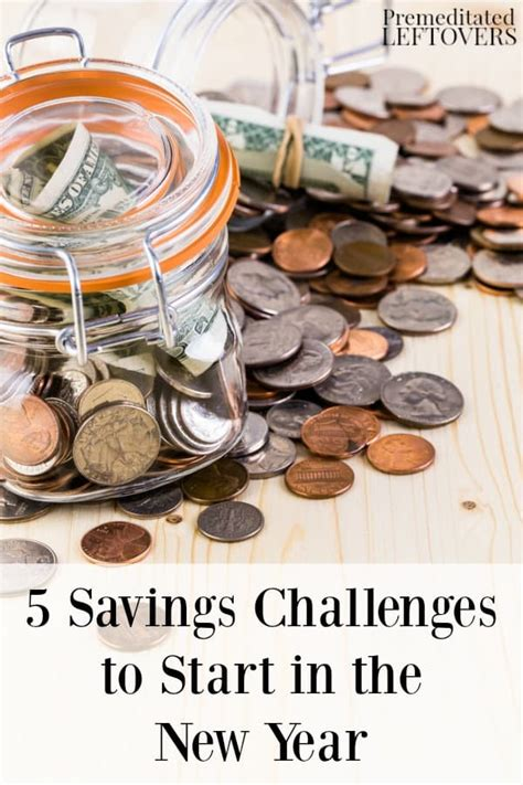 5 Challenges To Consider by 5 Savings Challenges To Start In The New Year