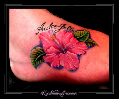 paradise tattoos pin bloem roos tattoos on