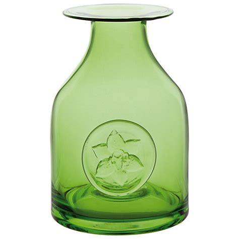 Dartington Flower Vase by Buy Dartington Bottle Vase Green Lewis