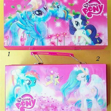 Harga Tempat Pensil Kode Kunci by Kotak Tempat Pensil Pony Pakai Kunci Kode Gambar