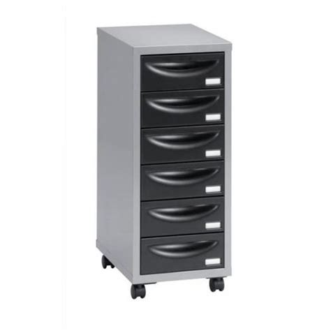 Cheap Office Drawers by Henry Multi Drawer Storage Cabinet Steel 6 Drawers