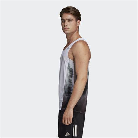 adidas sub 2 singlet adizero m hvit svart
