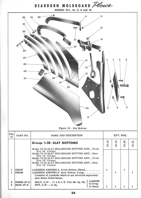 diagram of plough ford bottom plow parts diagram ford auto wiring diagram