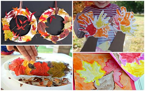 fall kid crafts fall leaf crafts for to make crafty morning