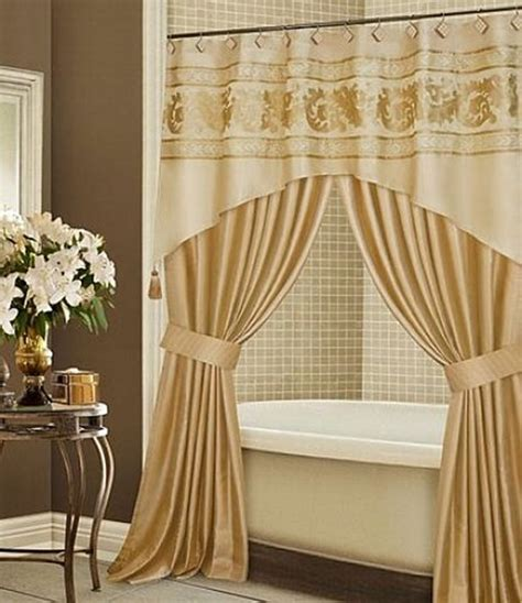 Luxury Shower Curtains Bathroom How To Choose Your Luxury Shower Curtain Interior Design