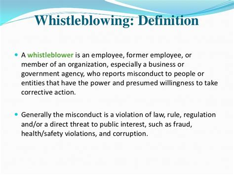 whistle meaning whistle blowing