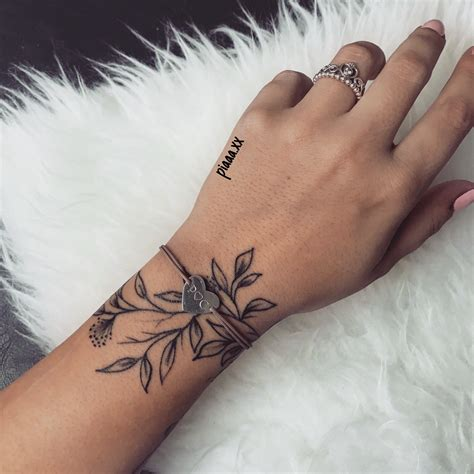 henna tattoos essen bl 228 tter handgelenk tattoos