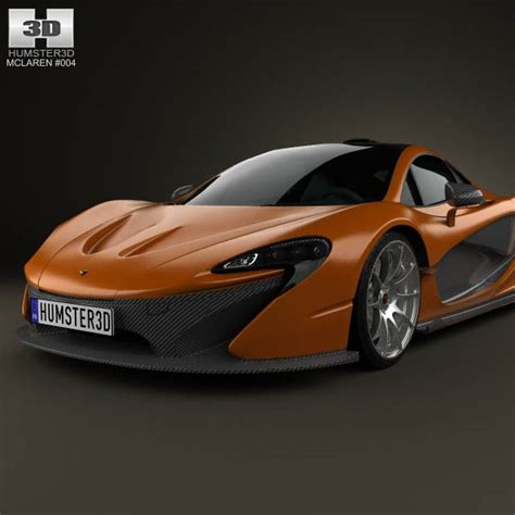 mclaren p1 2013 3d model hum3d