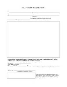 statutory declaration form victoria free download