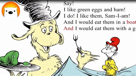 The Living Room Green Eggs And Ham Green Eggs And Ham Dr Seuss Story