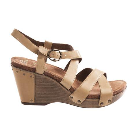 dansko frida wedge sandals for 8236g save 76