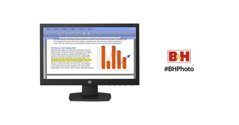 Monitor Hp V194 hp v194 18 5 quot 16 9 lcd monitor smart buy v5e94a6 aba b h