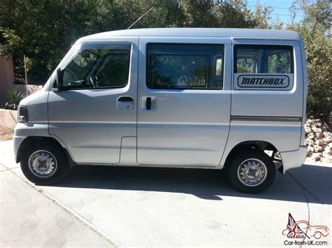 mitsubishi mini truck japanese mini truck cargo delivery van 2001 mitsubishi