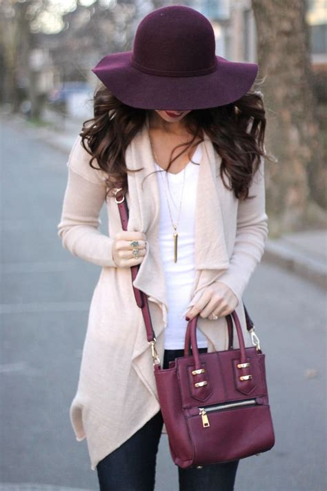 Purple Must Accessories For Fall by 7 Must Fall Staples For Warmer Climates Glam Radar
