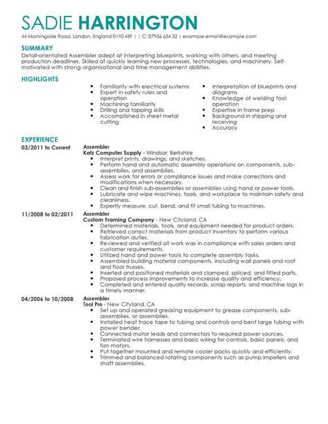 resume food industry resume examples