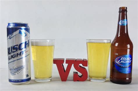 light vs bud light cheap beers the bracket 16 drink